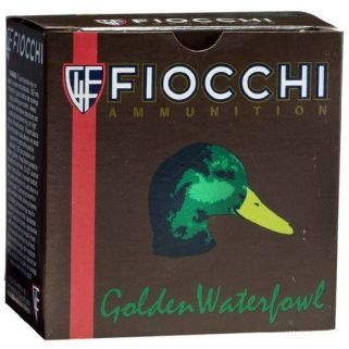 "Fiocchi Golden Waterfowl 12 Gauge 1 Shot 3"" 25 Round Box 123SGW1"