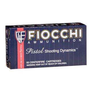 Fiocchi Shooting Dynamics 9mm 124 Grain FMJ TC 50 Round Box 9APC