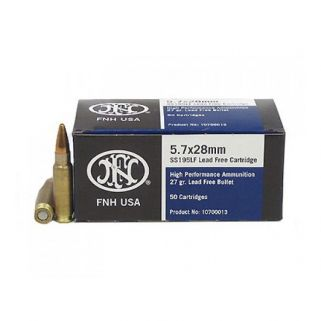 FN SS195 5.7x28mm 35 Grain Lead Free 50 Round Box 10700012
