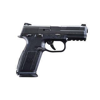 """FN FNS-40 40S&W 4"""" Barrel W/ 3 Dot Sights 10+1 Black 66764"""