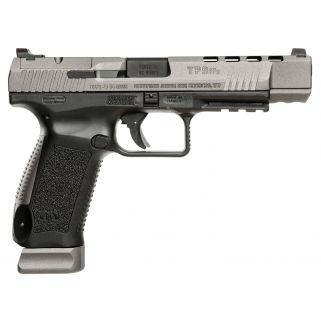 """Century Canik TP9SFX 9mm Luger 5.2"""" Barrel 20+1 Grey/Black HG3774GN"""