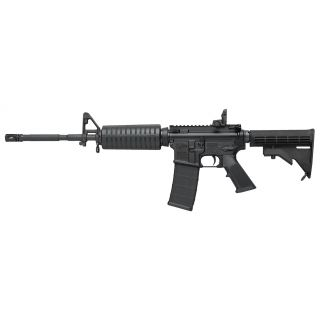 "Colt AR-15 M4 223 Remington/5.56NATO 16"" Barrel W/ Flip Up Rear-Adjustable Front Sights 30+1 Black LE6920"