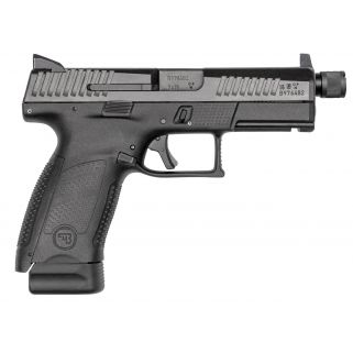 "CZ P-10 Compact 9mm 4.61"" BarrelHigh Metal Night Sights 17+1 Black 91523"