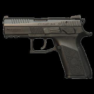 "CZ 75 P-07 9mm Luger 3.8"" Barrel W/ Fixed Sights 15+1 Black Nitride 91086"