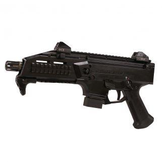 "CZ Scorpion Evo 3 S1 9mm Luger 7.72"" Barrel W/ Low Adjustable Sights 10+1 Matte Black 01351"