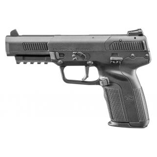 "FN Five-Seven 5.7x28mm 4.75"" Barrel W/ Adjustable Sights 10+1 Black 3868929302"