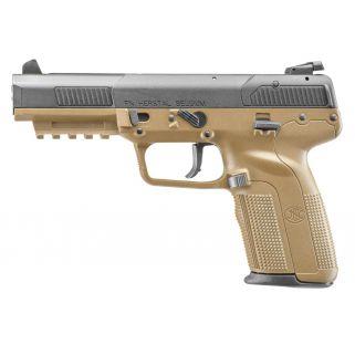 "FN Five-Seven 5.7x28mm 4.75"" Barrel W/ Adjustable Sights 10+1 Flat Dark Earth 3868929352"