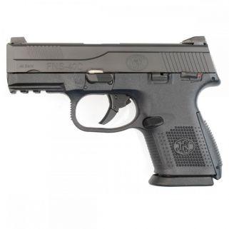 "FN FNS-40C 40S&W 3.6"" Barrel W/ Night Sights 14+1 Black 66782"