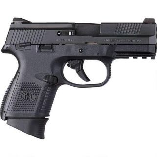"FN FNS-40C 40S&W 3.6"" Barrel W/ 3 Dot Sights 14+1 Black 66780"