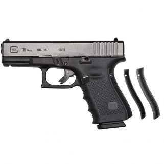 "Glock 19 Gen 4 9mm 4.02"" Barrel 15+1 Fixed Sights PG1950203"