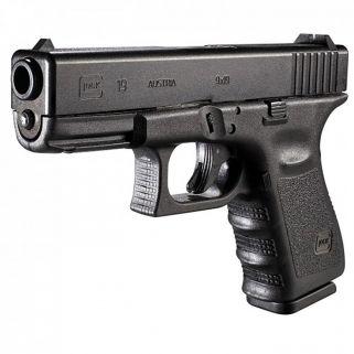 """Glock G19 Gen 3 9mm 4.01"""" Barrel 15+1 Black Fixed Sights G1915AUT"""