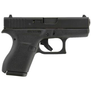 "Glock 42 Gen 3 Sub-Compact 380ACP 3.25"" Barrel 6+1 Fixed Sights UI4250201"