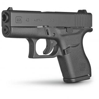 "Glock G43 Gen 3 9mm 3.39"" Barrel 6+1 PI4350201"