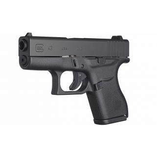 """Glock 43 Gen 3 Sub-Compact 9mm 3.39"""" Barrel 6+1 Fixed Sights UI4350201"""