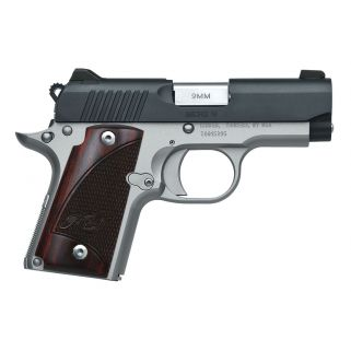 "KIMBER MICRO 9 TWO-TONE 9MM 3.15"" BARREL W/ ROSEWOOD GRIPS 3300099"