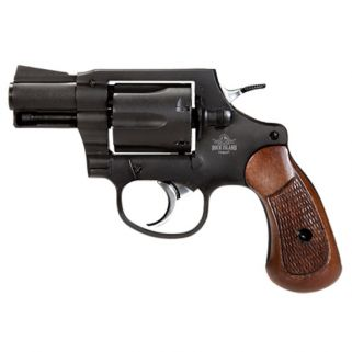 "Rock Island Armory M206 38 Special 2"" Barrel W/ Fixed Sights 6Rd Checkered Wood Grips/Black 51283"