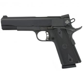 "Rock Island 1911 Standard FS 9mm 5"" Barrel W/ Fixed Sights 9+1 Black Rubber Grip/Parkerized 51632"