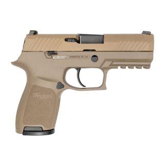 "Sig Sauer P320 FDE Compact 9mm FDE 3.9"" Barrel 15+1 320C-9-FDE"