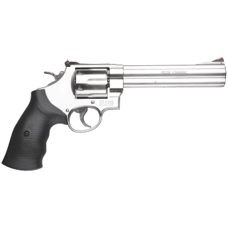 "Smith & Wesson 629 Classic 44 Remington Magnum 6.5"" Barrel 6Rd Black Synthetic Grip/Stainless 163638"