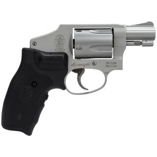"Smith & Wesson 642 38 S&W Special 1.875"" Barrel 5Rd Black Synthetic Grip/Stainless 163811"