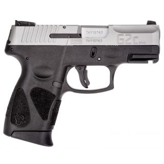 "Taurus PT111 G2C 9mm 3.2"" Barrel 12Rd Synthetic Black Grip/Stainless TI1G2C93912"