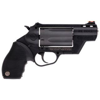 "Taurus 45/410 Public Defender 45 Colt/410 Gauge 2"" Barrel W/ Red Fiber Optic Front Sight 5Rd 2441021PFS"
