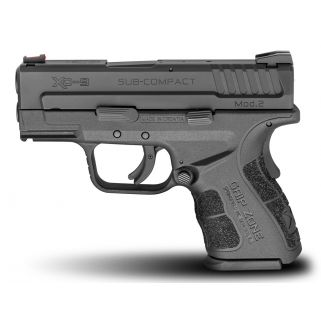 "Springfield Armory XD Sub Compact 9mm Luger 3"" Barrel 13+1/16+1 XDG9801HC"