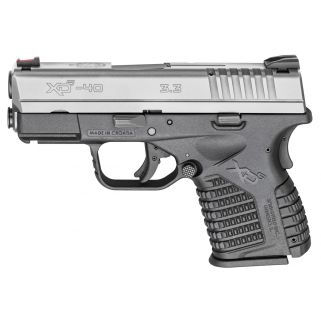 """Springfield Armory XDS 40S&W 3.3"""" Barrel 6+1/7+1 Stainless Steel XDS93340SE"""