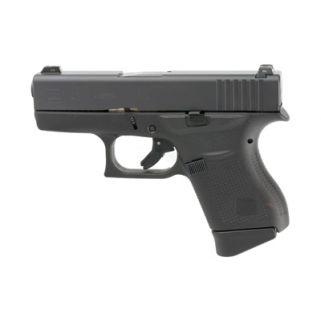 "Glock 43 Gen 3 Sub-Compact 9mm 3.39"" Barrel W/ Night Sights 6+1 4350701"