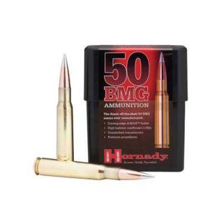 Hornady Match 50BMG 750 Grain A-Max 10 Round Box 8270