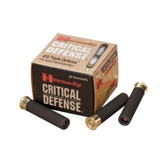 "Hornady Critical Defense 410 Gauge Slug Shot 2.5"" 20 Round Box 86238"