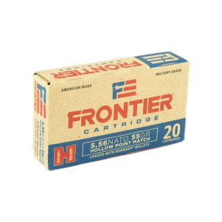 FRONTIER 556NATO 55GR HP MTCH 20/500