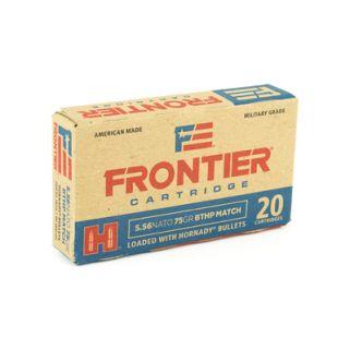 FRONTIER 556NATO 75GR BTHP MTCH 20/5