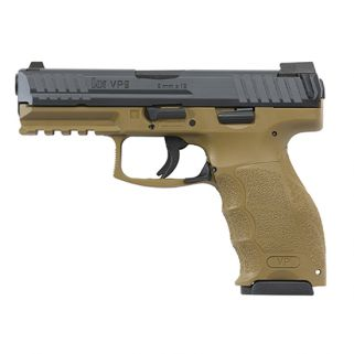 HK VP9 9MM 4.09 FDE NS 3 10RD
