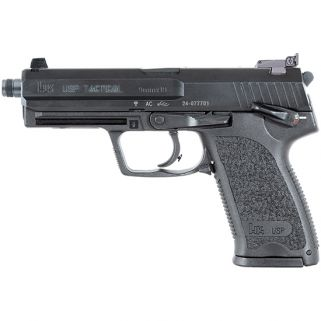 HK USP9 TACTICAL 9MM THRD BBL V1 NS 3 15RD