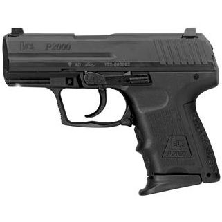 HK P2000SK V2 9MM 3.26 SUBCOMPACT 2 10RD