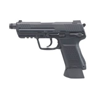 "Heckler & Koch HK45C Tactical V1 Compact 45ACP 4.57"" Threaded Barrel W/ Suppressor Sights 10+1 2 Mags 745031T-A5"