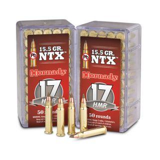 Hornady Varmint Express Rimfire 17HMR 15.5 Grain NTX 50 Round Box 83171