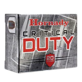 Hornady Critical Duty 10mm Auto 175 Grain FlexLock 20 Round Box 91256