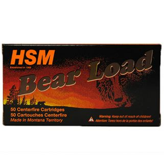 HSM AMMO BEARLOAD 10MM 200GR RNFP HARD