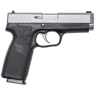 "Kahr CT9 9mm 4"" Barrel W/Combat Rear & Front Night Sights 8+1 Black/Matte Stainless CT9093N"