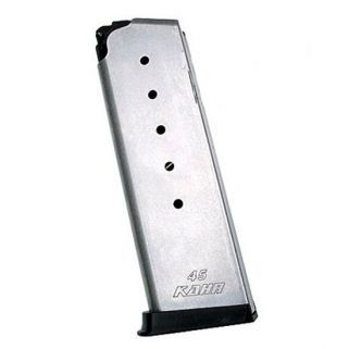 Kahr P45/CW45 45ACP Magazine 6Rd Stainless Flush-Fitting K625