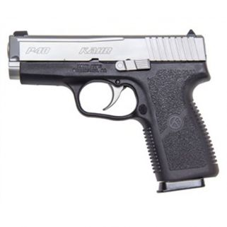"Kahr P40 40S&W 3.5"" Barrel W/Combat Sights 6+1 Black/Matte Stainless *CA Compliant* USED KP4043A"