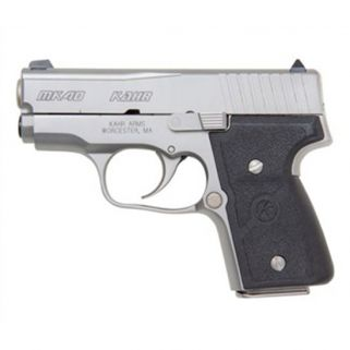 "Kahr MK40 40S&W 3"" Barrel W/Combat Sights 5+1/6+1 Black/Matte Stainless *CA Compliant* USED M4043A"