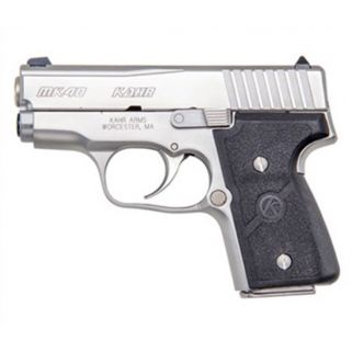 "Kahr MK40 Elite 40S&W 3"" Barrel W/Combat Sights 5+1/6+1 Black/Stainless *CA Compliant* USED M4048A"