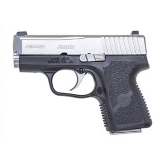 "Kahr PM40 40S&W 3"" Barrel W/Tritium Night Sights 5+1/6+1 Black/Matte Stainless USED PM4043NA"