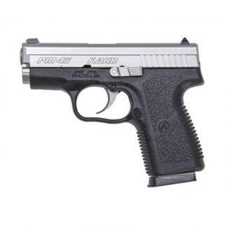"Kahr PM45 45ACP 3"" Barrel W/Combat Sights 5+1 Black/Matte Stainless USED PM4543"