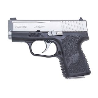 "Kahr PM40 40S&W 3"" Barrel W/External Safety 5+1/6+1 Black/Matte Stainless Blemished PM4143"