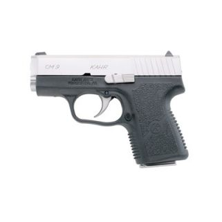 "Kahr CM9 9mm 3"" Barrel W/Combat Sights 6+1 Black/Stainless CM9093"