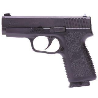 "Kahr CW9 9mm 3.5"" Barrel W/Combat Rear Sight 7+1 Black/Black Cerakote CW9093CB"
